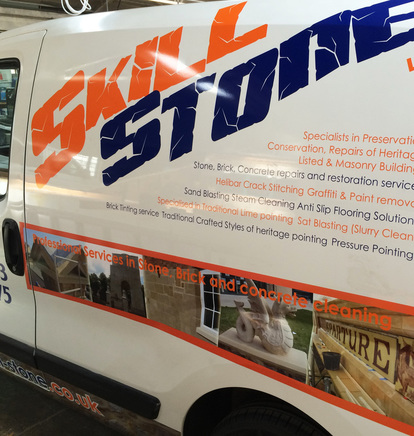 Vehicle Graphics in Leicester